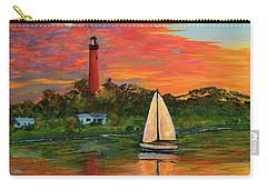 Jupiter Lighthouse Sunrise Alt Carry-all Pouch