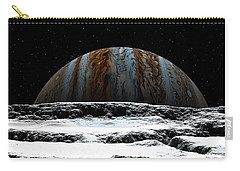 Jupiter Rise At Europa Carry-all Pouch