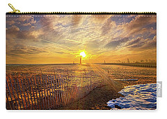 Carry-all Pouch featuring the photograph Just A Bit More To Go by Phil Koch