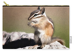 Just A Little Nibble Carry-all Pouch by Lana Trussell
