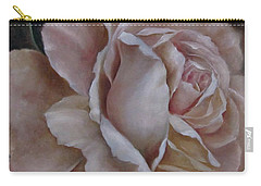 Just A Rose Carry-all Pouch by Katia Aho