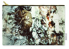 Carry-all Pouch featuring the photograph Just A Shell by Robert Knight