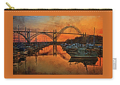 Just After Sunset On Yaquina Bay Carry-all Pouch