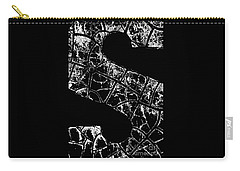 Carry-all Pouch featuring the photograph Just An S by Wendy Wilton