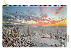 Just Another South Walton Sunset Carry-all Pouch by JC Findley