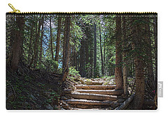 Carry-all Pouch featuring the photograph Just Another Stairway To Heaven by James BO Insogna