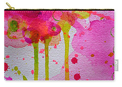 Carry-all Pouch featuring the painting Just As I Am by Tracy Bonin