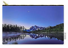 Carry-all Pouch featuring the photograph Just Before The Day by Jon Glaser