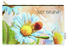 Just Believe Carry-all Pouch