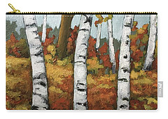 Just Birches Carry-all Pouch