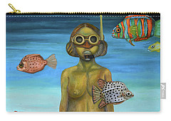 Just Breathe Carry-all Pouch by Leah Saulnier The Painting Maniac