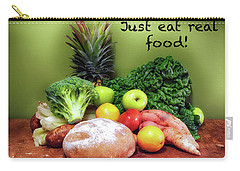 Just Eat Real Food Carry-all Pouch