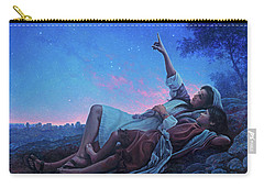 Carry-all Pouch featuring the painting Just For A Moment by Greg Olsen