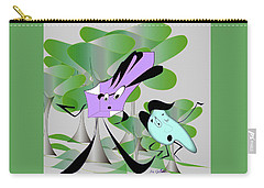 Just For Fun Carry-all Pouch by Iris Gelbart
