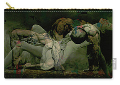 Carry-all Pouch featuring the digital art Just Give Me A Reason by Paul Lovering