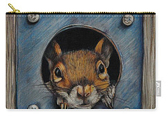 Just Hanging Out Carry-all Pouch by Jean Cormier