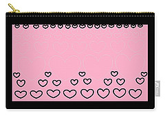 'just Hearts 8' Carry-all Pouch