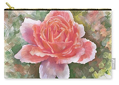 Just Joey Rose From The Acrylic Painting Carry-all Pouch