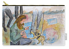Just One More Carry-all Pouch by Clyde J Kell