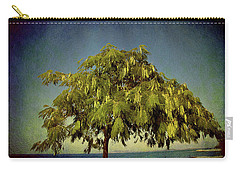 Carry-all Pouch featuring the photograph Just One Tree by Milena Ilieva