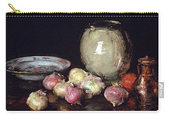 Just Onions, 1912 Carry-all Pouch by William Merritt Chase