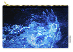 Just Passing By - Blue Art Photography Carry-all Pouch