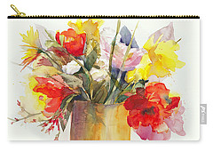Just Picked Carry-all Pouch by Bonnie Rinier