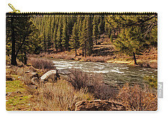 Just Rolling Along Carry-all Pouch by Nancy Marie Ricketts