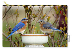 Just The Two Of Us Carry-all Pouch by Bill Pevlor