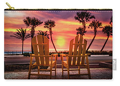 Carry-all Pouch featuring the photograph Just The Two Of Us by Debra and Dave Vanderlaan