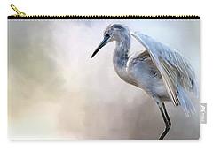 Juvenile Heron Carry-all Pouch by Cyndy Doty