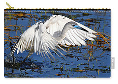 Juvenile Little Blue Heron Carry-all Pouch