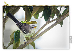 Juvenile Northern Mockingbird Carry-all Pouch