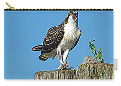 Juvenile Osprey#1 Carry-all Pouch by Geraldine DeBoer