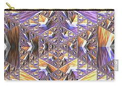 Carry-all Pouch featuring the digital art Jyoti Ahau 179 by Robert Thalmeier
