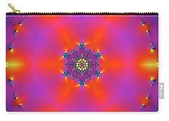 Carry-all Pouch featuring the digital art Jyoti Ahau 182 by Robert Thalmeier
