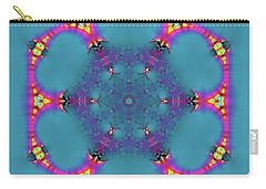 Carry-all Pouch featuring the digital art Jyoti Ahau 183 by Robert Thalmeier