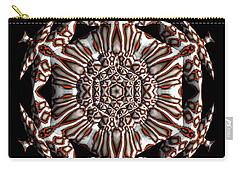 Carry-all Pouch featuring the digital art Jyoti Ahau 186 by Robert Thalmeier