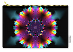 Carry-all Pouch featuring the digital art Jyoti Ahau 189 by Robert Thalmeier