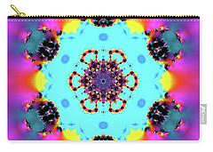 Carry-all Pouch featuring the digital art Jyoti Ahau 190 by Robert Thalmeier