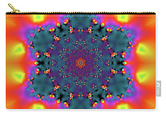 Carry-all Pouch featuring the digital art Jyoti Ahau 194 by Robert Thalmeier