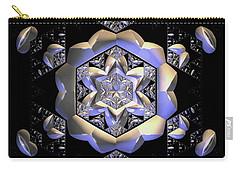 Carry-all Pouch featuring the digital art Jyoti Ahau 196 by Robert Thalmeier