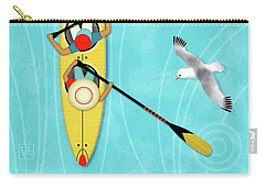 K Is For Kayak And Kittiwake Carry-all Pouch