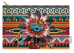 Kachina Doll Art Carry-all Pouch