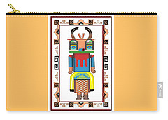 Kachina Doll Carry-all Pouch