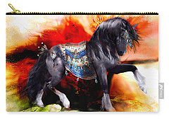 Kachina Hopi Spirit Horse  Carry-all Pouch by Shanina Conway