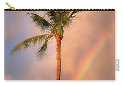Kahekili Beach Park Rainbow Palm Carry-all Pouch