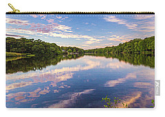 Kahler's Pond Clouds Carry-all Pouch