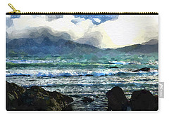 Kaikoura Seascape Carry-all Pouch