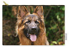 Kaiser - German Shepherd Carry-all Pouch by Sandy Keeton
